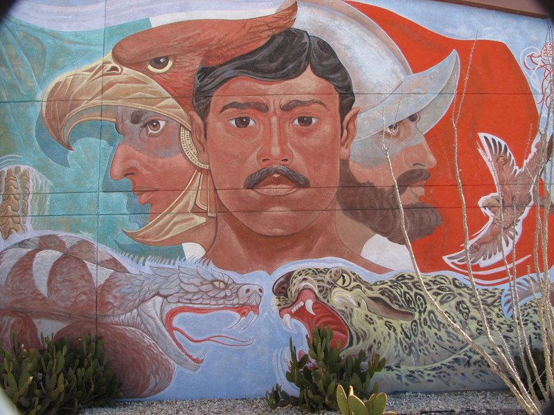 Chicanos for Chicano mural art